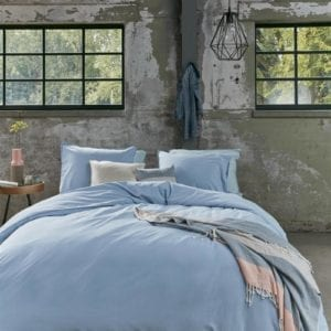 Beddinghouse Basic Dekbedovertrek - Blauw