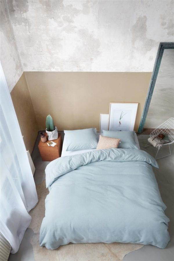 At Home by Beddinghouse Living Dekbedovertrek - Blauwgrijs