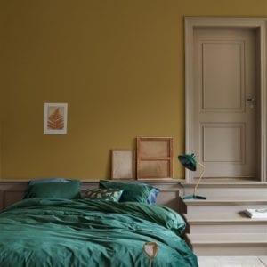 At Home by Beddinghouse Tender Dekbedovertrek - Groen