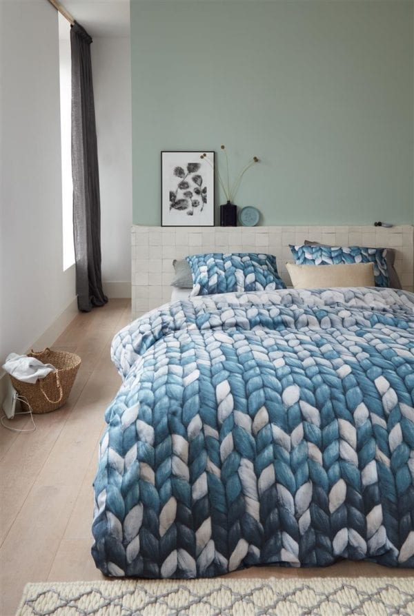Ariadne at Home Warmly Dekbedovertrek - Blauw