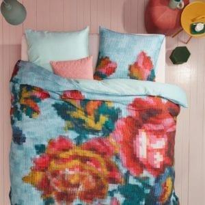 Oilily Floral Mosaic Dekbedovertrek - Multi