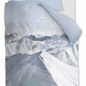 Rivièra Maison Moritz Mountain Dekbedovertrek - Blauwgrijs