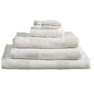 Beddinghouse Sheer Stripe Handdoek Large - Zand