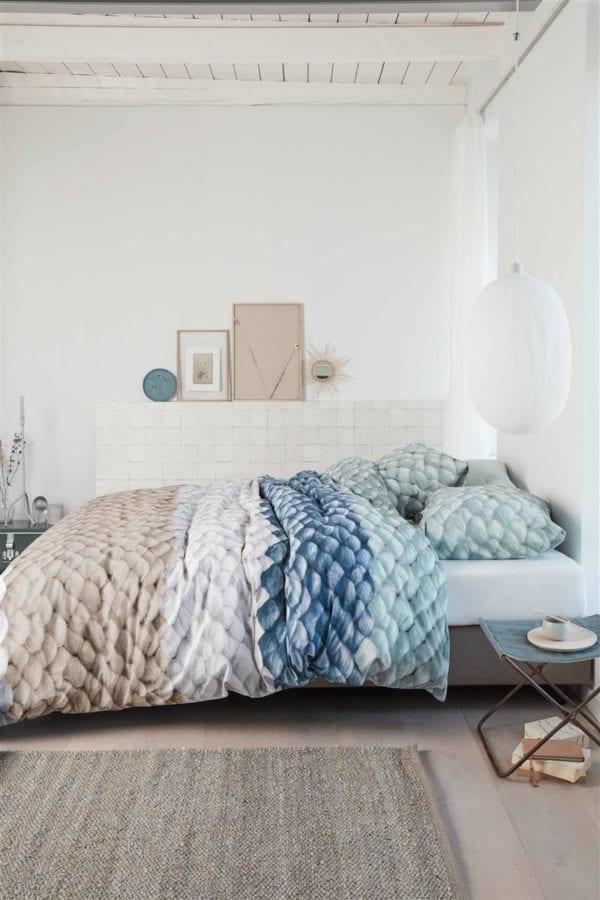 Ariadne at Home Chunky Dekbedovertrek - Blauw