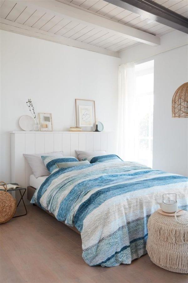 Ariadne at Home Colour Blush Dekbedovertrek - Blauw
