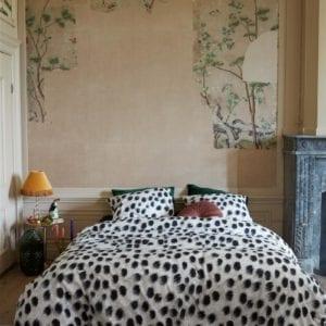 At Home by Beddinghouse Roundly Dekbedovertrek- Zwart Wit
