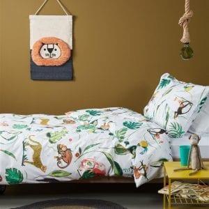 Beddinghouse Kids Crazy Jungle Dekbedovertrek - Multi