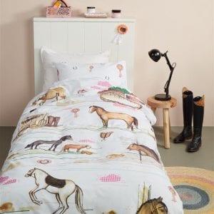 Beddinghouse Kids Horse Ranch Dekbedovertrek - Multi
