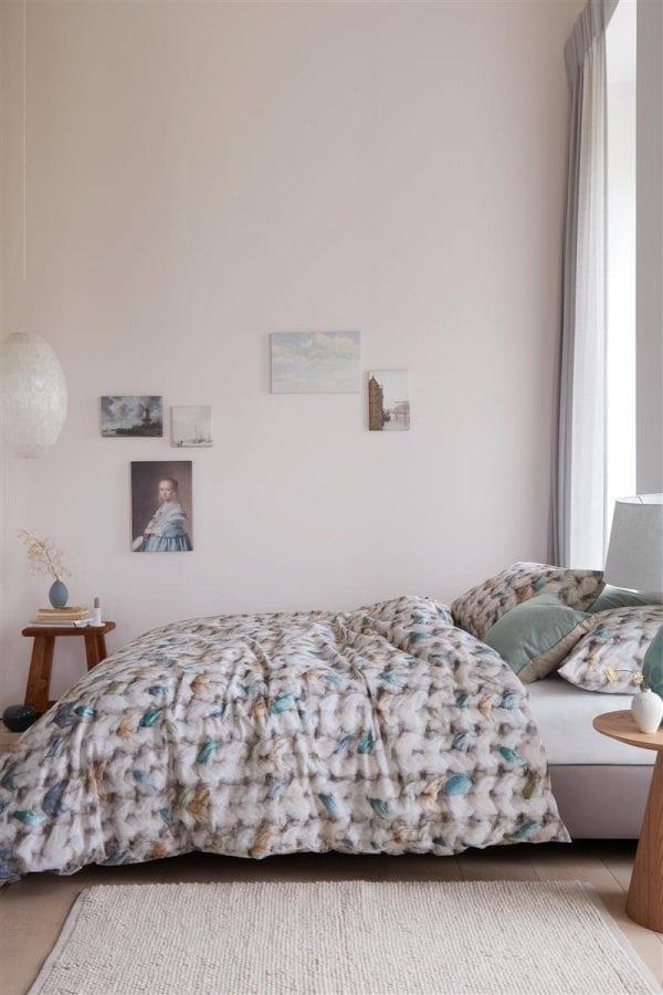 Ariadne at Home Purely Dekbedovertrek - Blauwgroen