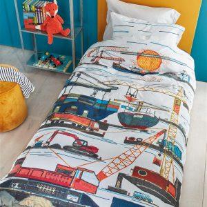Beddinghouse Kids Seaport Dekbedovertrek - Multi